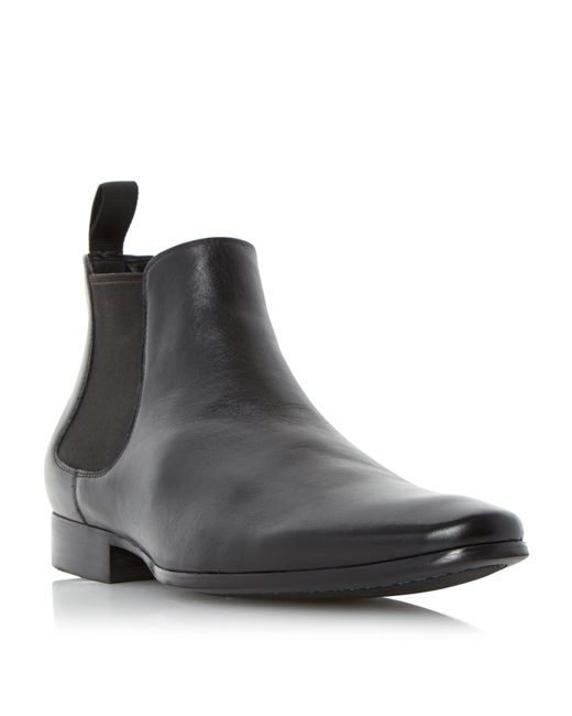 Dune | Black Murray Two Toned Lace Chukka Boots for Men | Lyst