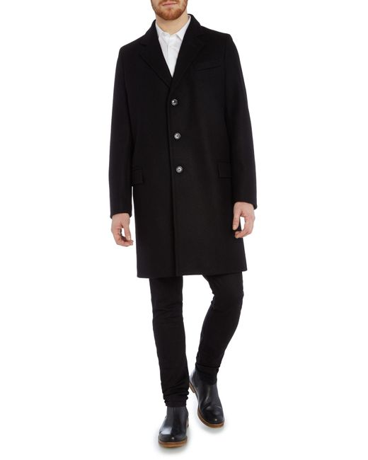 black single men in chesterfield Sz 16 18 wool chesterfield maxi coat - black  tweed overcoat mcm coat chesterfield coat men  chesterfield grey overcoat - topcoat ~ single breasted.