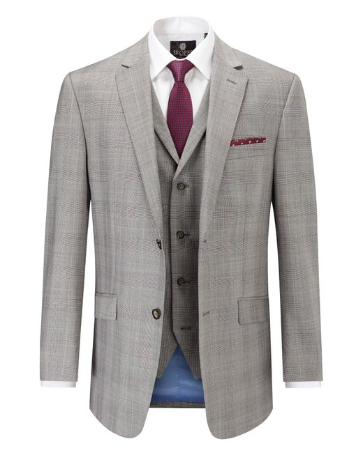 Skopes | Gray Cheltenham Classic Suit Jacket for Men | Lyst