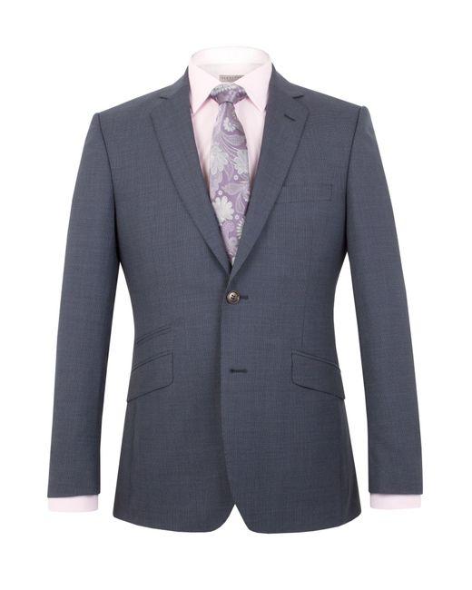 Alexandre Of England   Blue Harrington Tailored Puppytooth Jacket for Men   Lyst