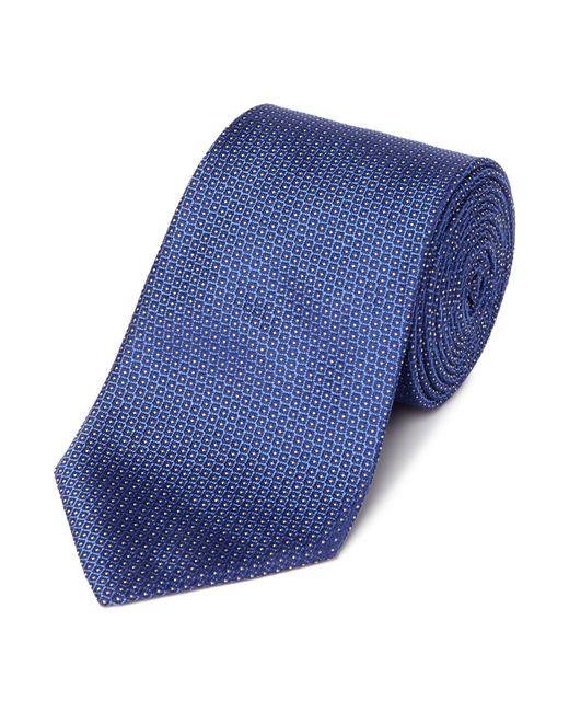 Armani | Blue Diagonal Neat Tie for Men | Lyst