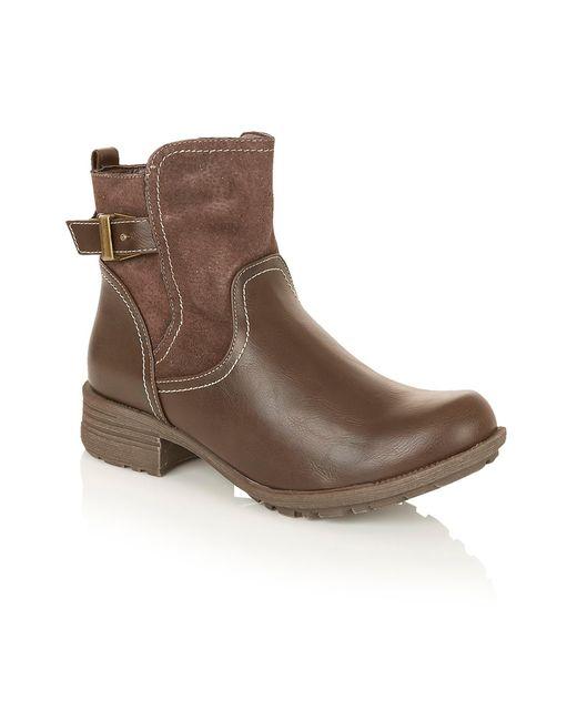 Lotus | Brown Matholia Ankle Boots | Lyst