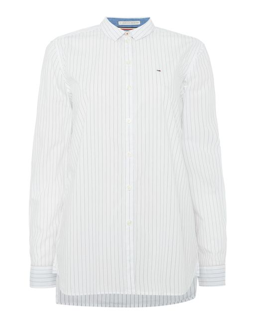 Tommy Hilfiger | White Logo Shirt, Only At Macy's | Lyst