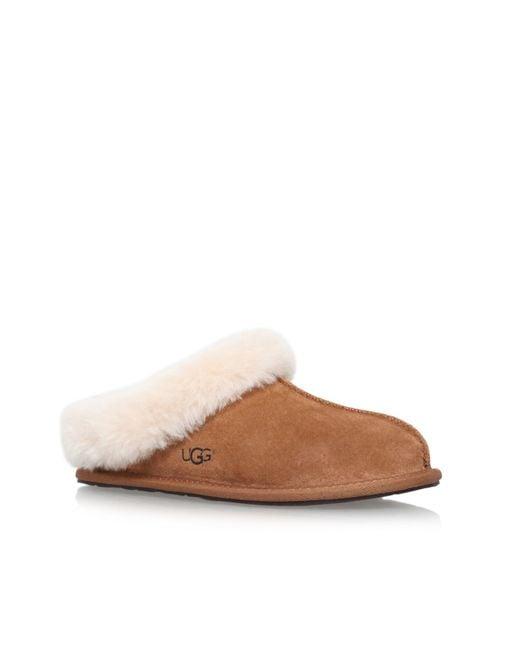 Ugg | Brown Moraene Flat Slippers | Lyst