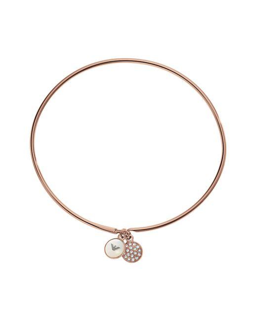 Emporio Armani | Metallic Egs2155221 Ladies Bracelet | Lyst