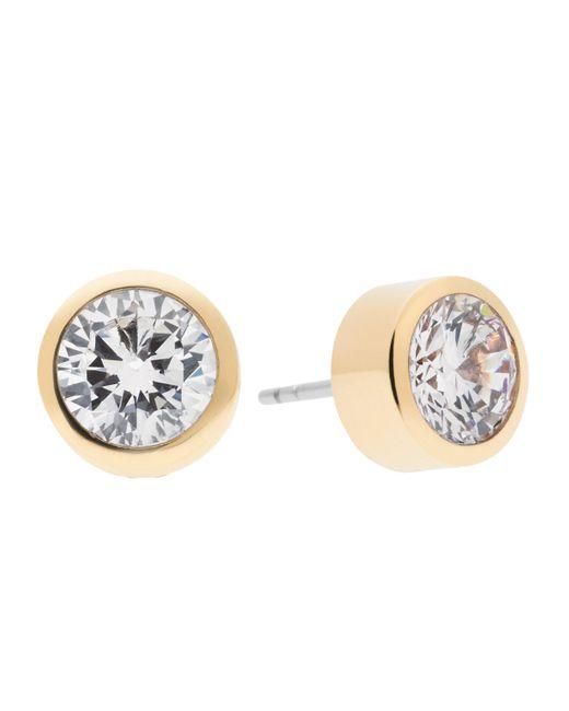 Michael Kors   Metallic Park Avenue Glam Jeweled Stud Earrings/goldtone   Lyst