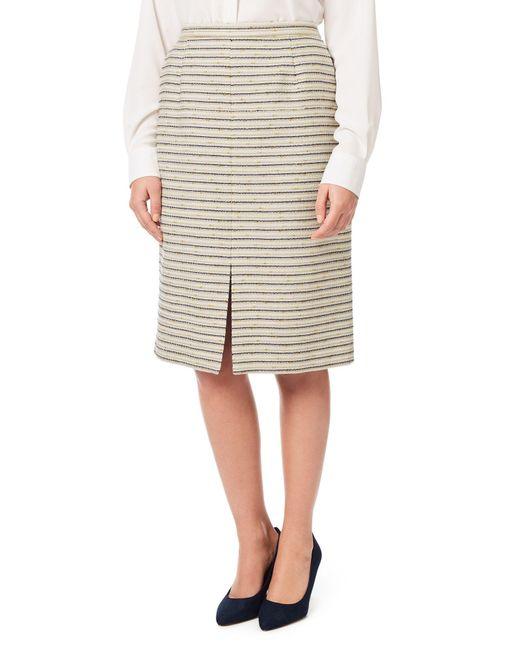 eastex summer tweed pencil skirt lyst