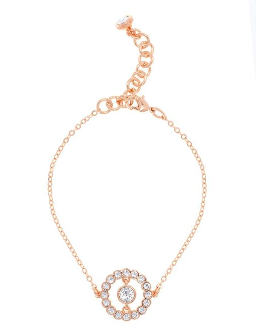 Ted Baker | Metallic T13302402 Concentric Crystal Bracelet | Lyst