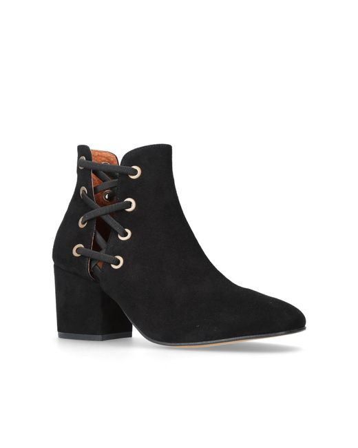 H by Hudson | Black Kris Ankle Boots | Lyst