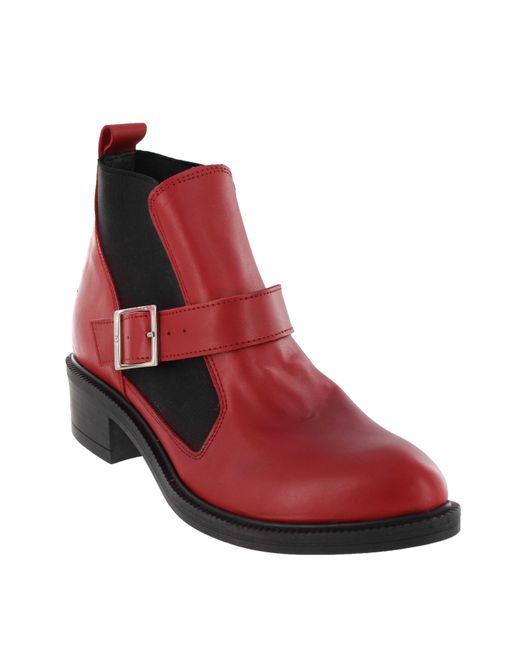 Marta Jonsson | Red Women`s Slip On Ankle Boot | Lyst