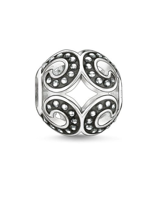 Thomas Sabo - Metallic Karma Bead Powerful Wave - Lyst