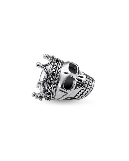 Thomas Sabo | Black Skull King Karma Bead | Lyst