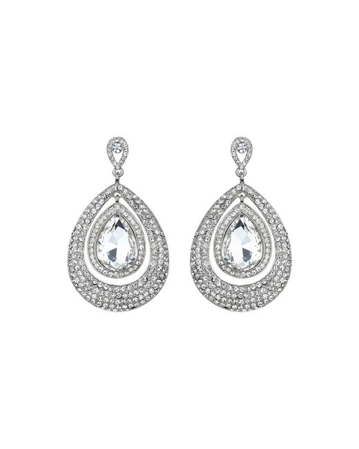 Mikey - Metallic Eclipse Crystal Twin Surround Earring - Lyst