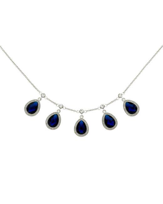 Monet   Blue Montana Teardrop Multi Necklace   Lyst