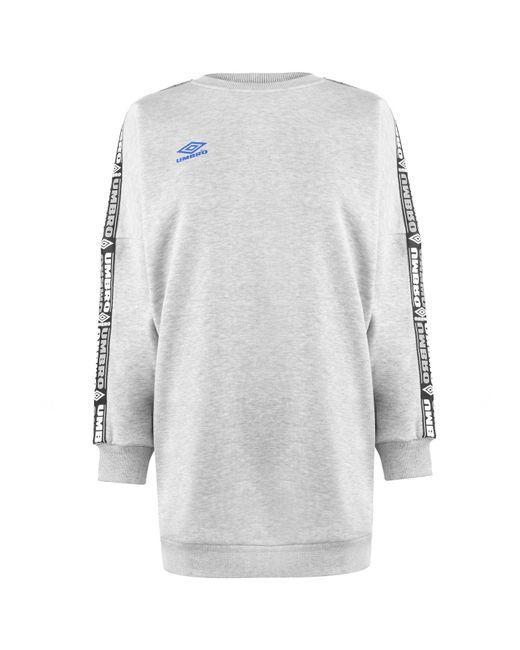Umbro Gray Batwing Sweater Dress - Grey