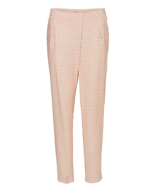Betty & Co. | Pink Printed Trousers | Lyst