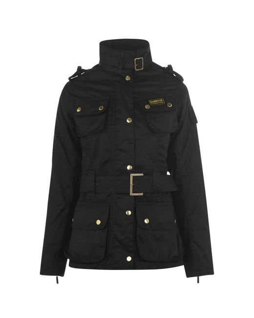 Barbour Black Inter Wax Jacket