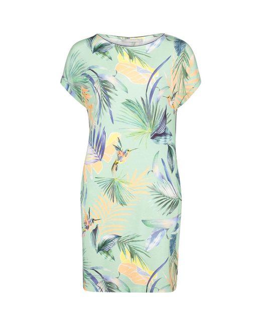 Betty Barclay Green Printed T-shirt Dress