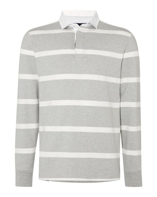 Howick | Gray Hockney Striped Rugby Shirt for Men | Lyst
