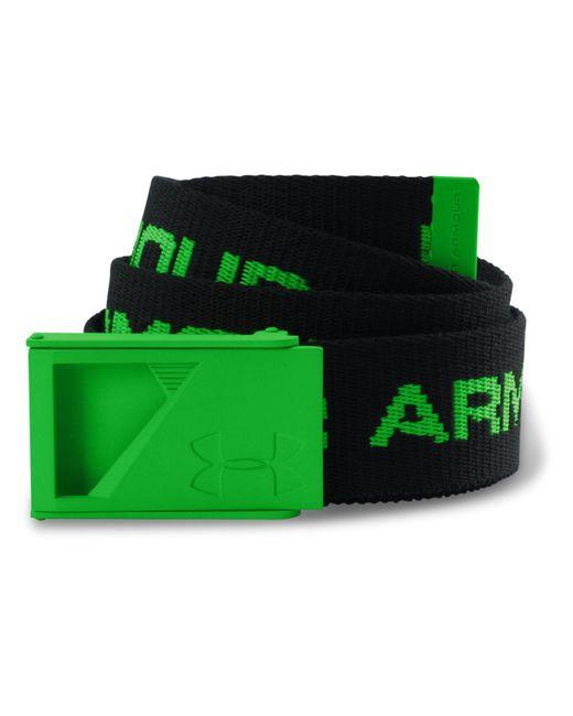 Under Armour - Green Range Webbing Belt for Men - Lyst