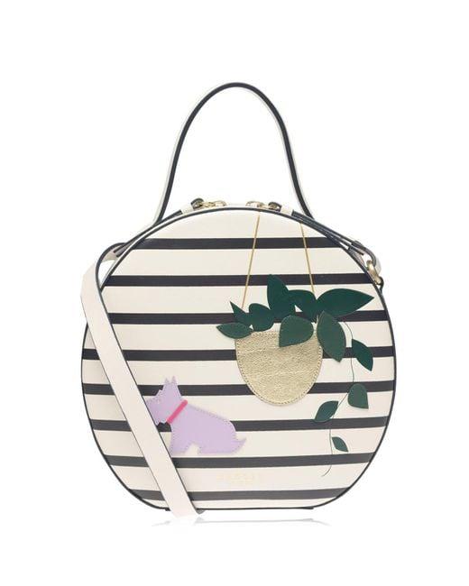 Radley Multicolor Leaf Cross Body Bag