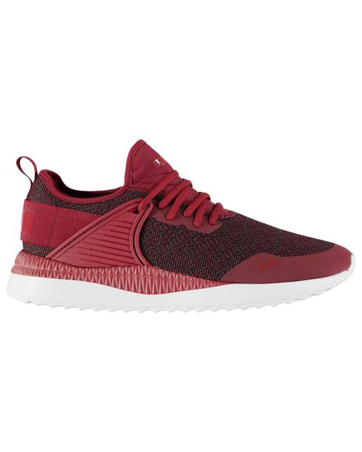 PUMA Red Pacer Cage Trainers for men