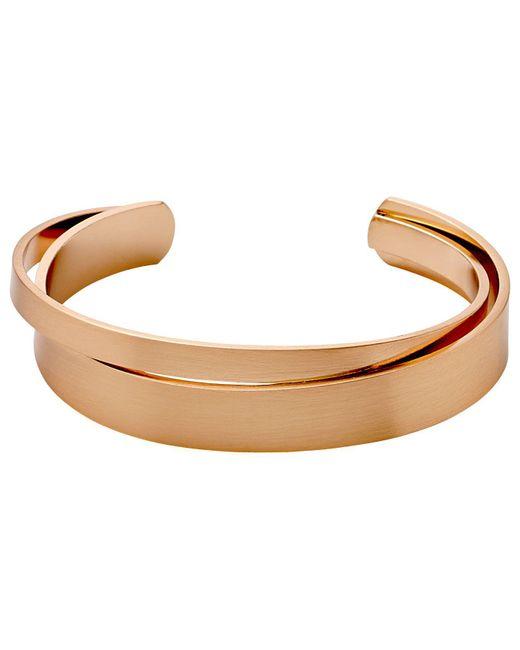 Pilgrim - Multicolor Rose Gold Colour Bracelet - Lyst