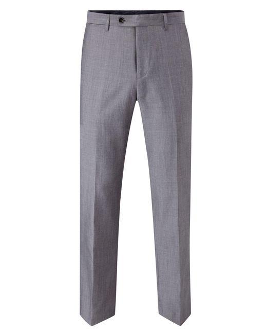 Skopes - Gray Reagan Suit Trouser for Men - Lyst