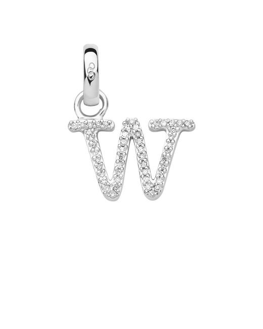 Links of London - Metallic Sterling Silver & Diamond W Alphabet Charm - Lyst