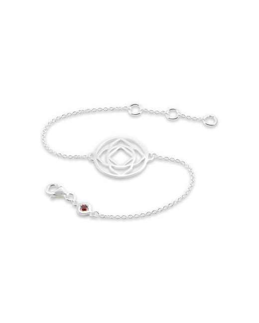 Daisy London - Metallic Base Chakra Chain Bracelet - Lyst