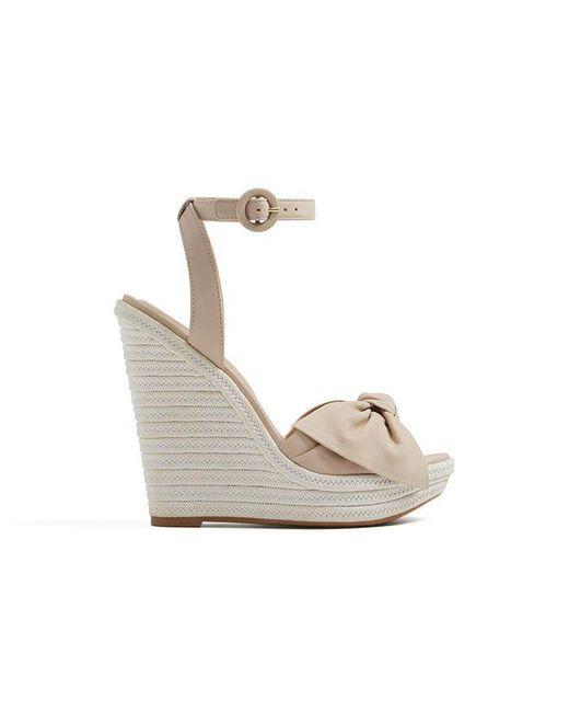 ALDO - White Besch Sandals - Lyst