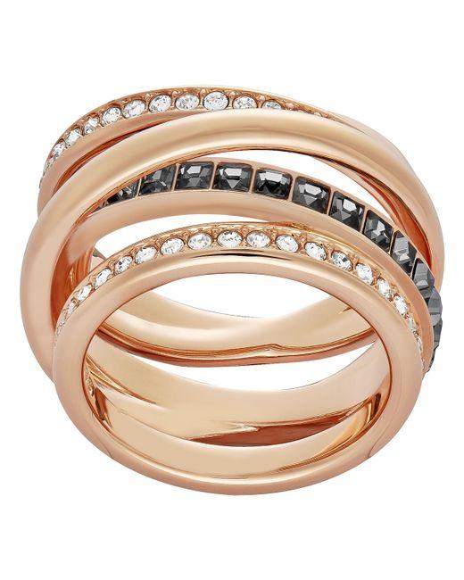 Swarovski - Pink Dynamic Ring - Lyst