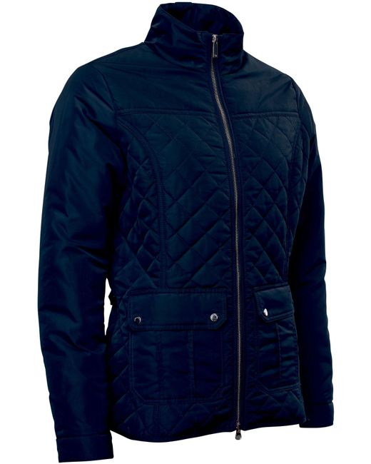 Abacus | Blue Holmen Quilted Jacket | Lyst