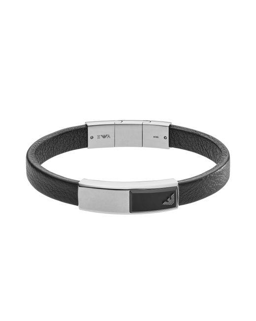 Emporio Armani - Black Egs2288040 Mens Bracelet for Men - Lyst
