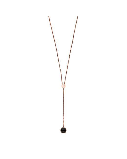 Skagen | Metallic Ellen Stainless Steel Necklace - Rose Gold | Lyst