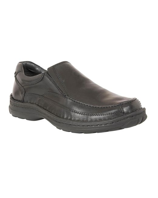 Lotus - Black Slip On Casual Loafers for Men - Lyst