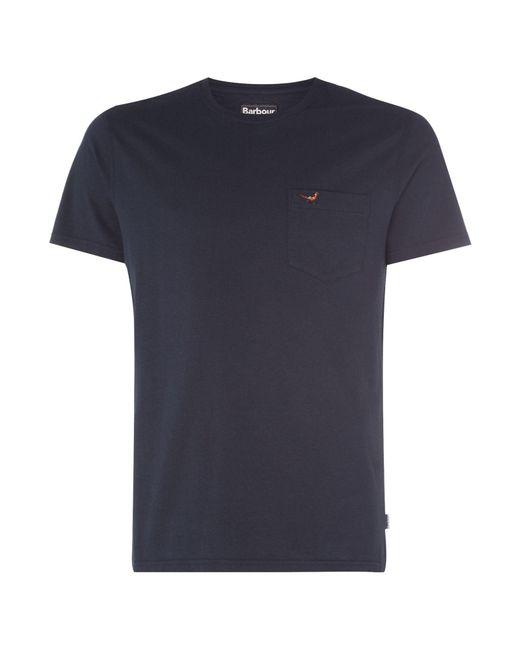 Barbour - Blue 1894 Preston Pocket T-shirt for Men - Lyst