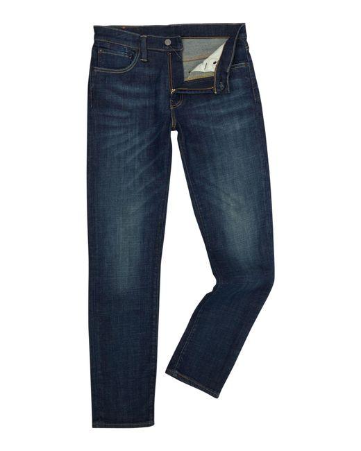 Levi's - Blue 511 Stojko Slim Fit Dark Wash Jeans for Men - Lyst