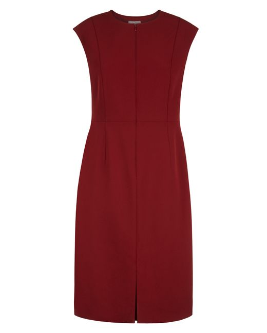 Jaeger | Red Shift Dress | Lyst