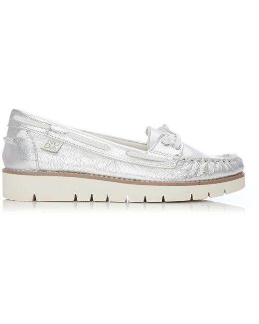 Moda In Pelle Metallic Arela Low Casual Shoes