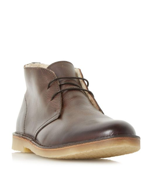 Dune - Brown Calabassas Desert Boots for Men - Lyst
