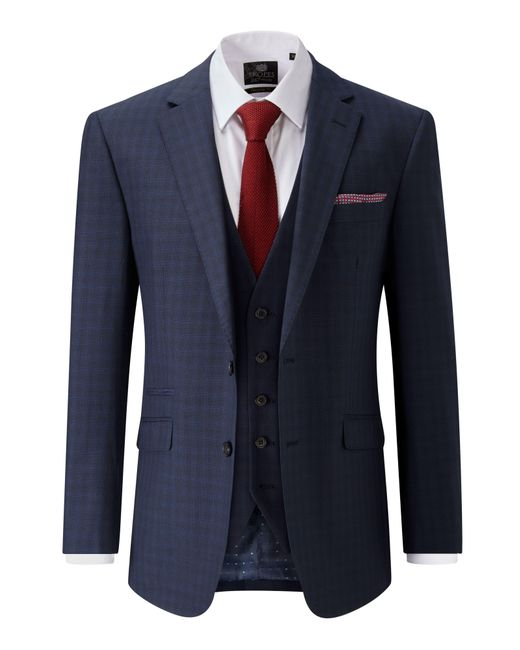 Skopes - Blue Shields Tailored Wool Blend Jacket for Men - Lyst