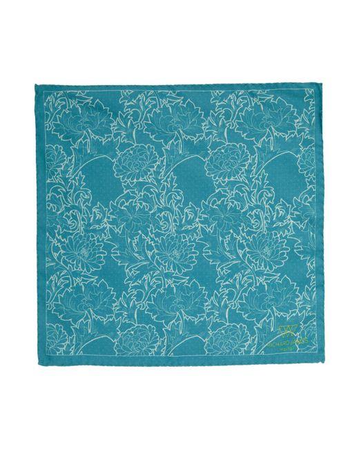 Richard James | Blue Reversible Floralspot Hank for Men | Lyst