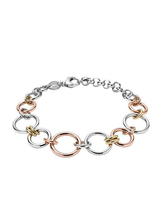 Fossil   Metallic Jf01821998 Ladies Bracelet   Lyst