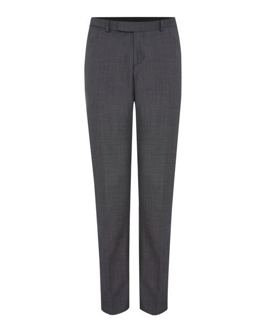 Howick - Gray Men's Darby Birdseye Slim Fit Trouser for Men - Lyst