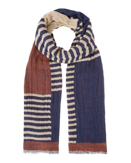 Pepe Jeans | Blue Burt Scarf Woven Scarf for Men | Lyst