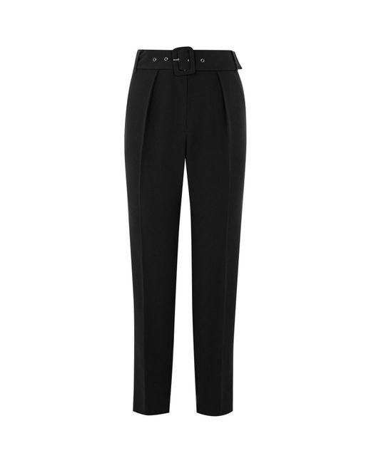 Oasis Black Peg Trousers