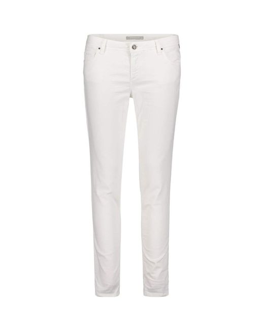 Betty Barclay White Five Pocket Jeans