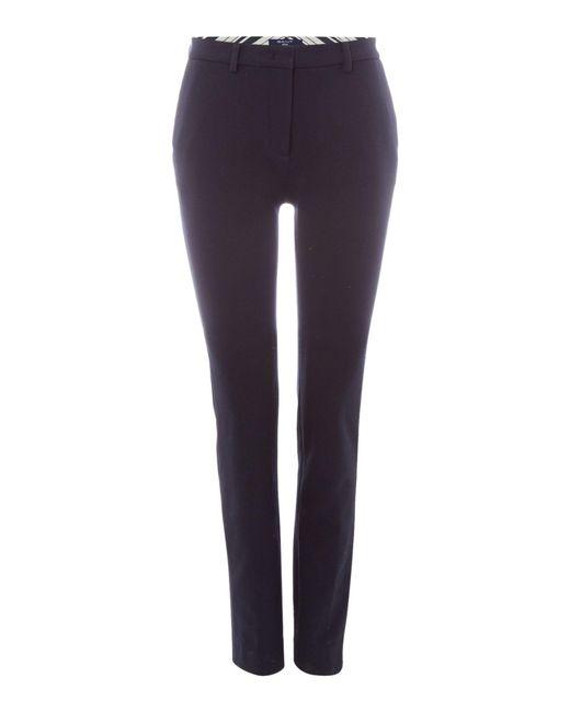 Gant | Blue Tailored Jersey Pants | Lyst