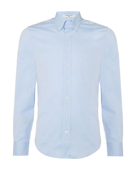 Gant | Blue Diamond G Fully Fitted Oxford Pin Point Shirt for Men | Lyst